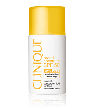SPF 50 Mineral Fluid For Face